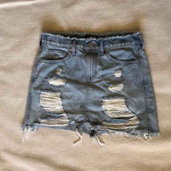 Express Dresses & Skirts - Jean skirt
